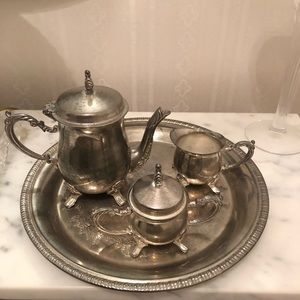 Sterling Sliver tea set